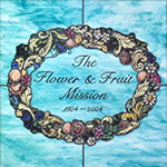 Fruit and flower mission logo