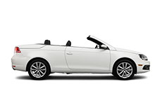 white convertible automobile